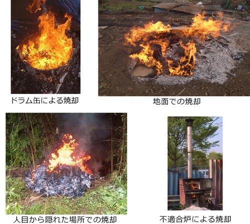 廃棄物の違法焼却について|相模原市